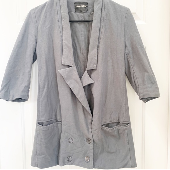 Monrow Jackets & Blazers - Monrow M Double Breasted Tux Jacket (XS)